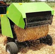 厂家直销拖拉机带的牵引式圆捆机