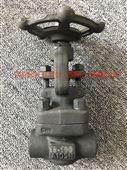 锻钢截止阀FJ61H-100焊接高压高温