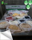 實現自動化生產微波五谷雜糧熟化烘焙設備