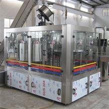 全自动三合一含气饮料碳酸饮料灌装机