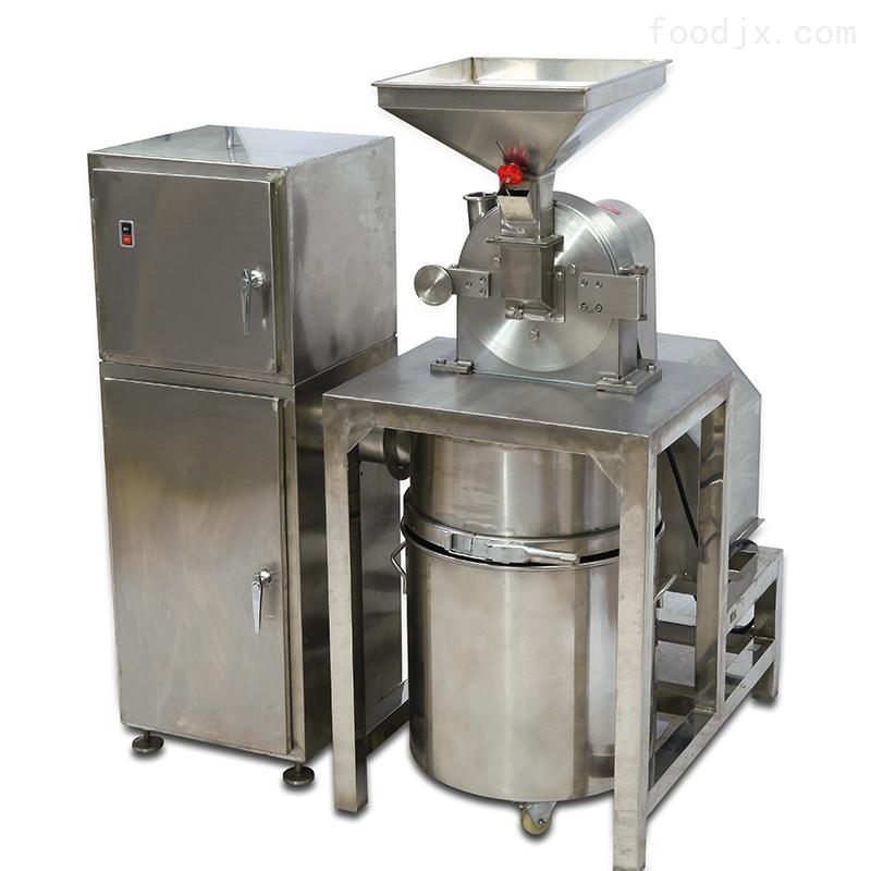 齿盘式除尘食品粉碎机-多功能中药除尘粉碎机
