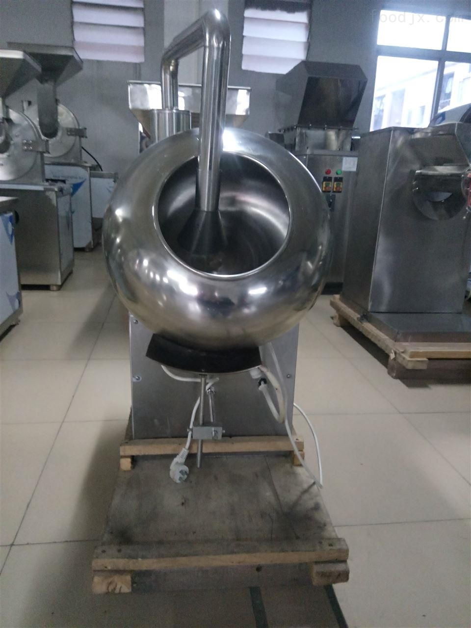 包衣机厂家 食品糖衣机 小型实验室糖衣机
