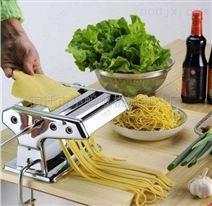 小型不锈钢家庭手摇面条机双刀单刀可选