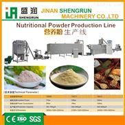 濟南盛潤谷物磨粉膨化機生產線