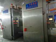宠物食品环保500型烟熏炉-电加热肉肠蒸煮机