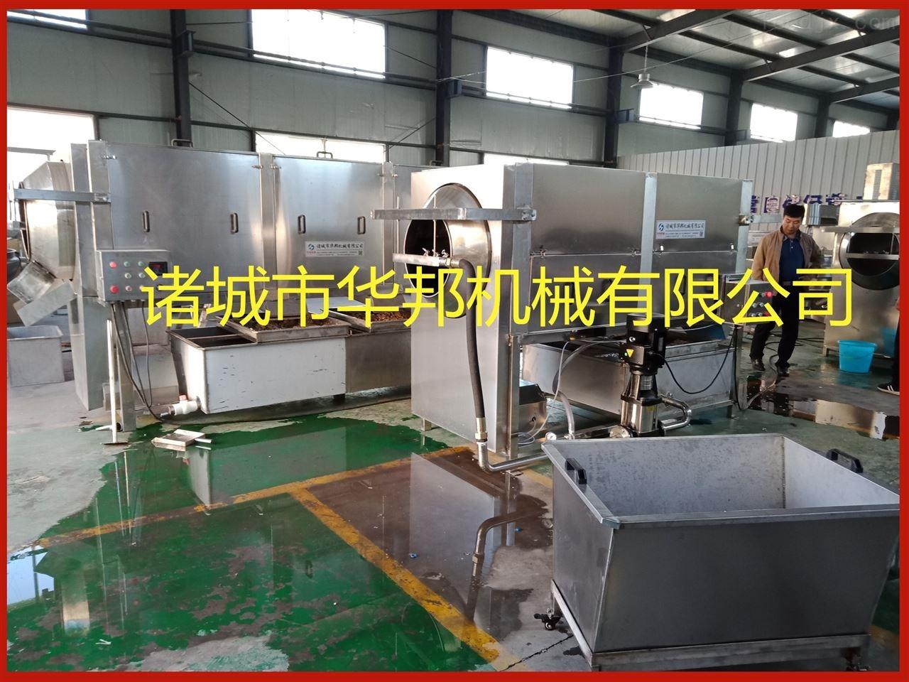 华邦机械核桃仁去皮机设备说明 图片展示