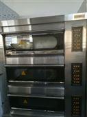 烘焙機械匯麥電烤箱三層六盤