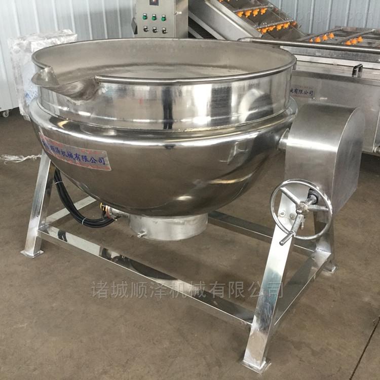 卤煮花生蒸煮锅 可倾式电加热夹层锅