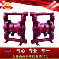 污水输送铸铁气动双隔膜泵