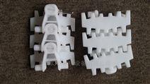 转弯环形齿形链输送机