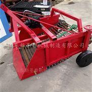 拖拉机带红薯收获机