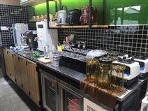 奶茶店专用水吧操作台定做生产厂家