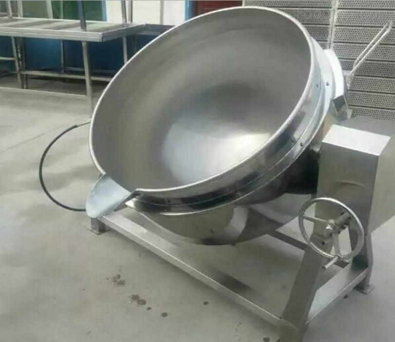 红枣泥可倾式燃气夹层锅