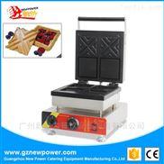 电热夹心华夫机模具松饼炉糕点设备