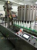 牛奶铝箔制盖封口机灌装机