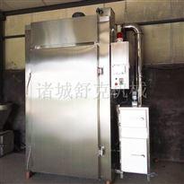 SYX-50贵州遵义麻辣烟熏肉小型全自动烟熏炉