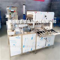 西安全自动豆腐机设备 商用豆腐点脑机器