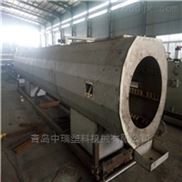 中瑞PE管生产线单螺杆管材挤出机设备