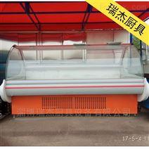 北京出售直冷式熟食保鲜柜超市熟食柜鸭脖柜