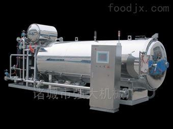 700700型号半自动双层热水循环杀菌锅