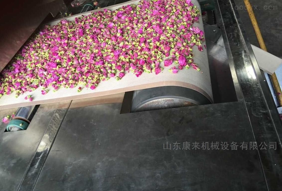玫瑰花茶叶杀青设备,多层环保杀青机