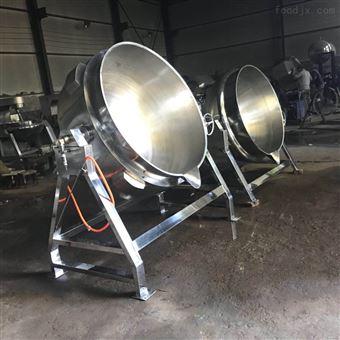 200药材熬制锅 可倾式带搅拌夹层锅