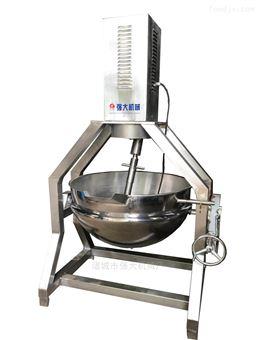 400强大高浓度物料行星搅拌夹层锅