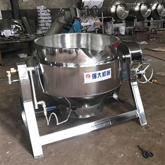 300不锈钢导热油蒸煮夹层锅