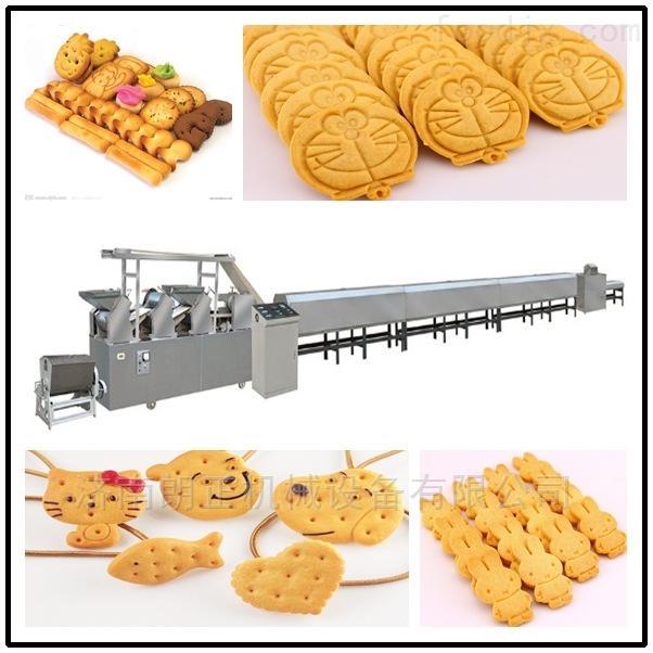 饼干蛋糕零食早餐苏打饼干酵母减盐味生产线