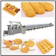 饼干零食早餐苏打饼干酵母成型机生产线