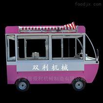 移动小吃车餐车一夜暴富设计出外观小巧