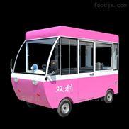 优质电动移动四轮快餐车不掉漆超强密封