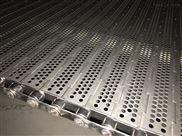 蔬菜清洗海鲜速冻蒸煮机械传输带 冲孔链板网带