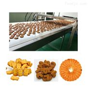 全自动饼干机 饼干生产流水线生产设备
