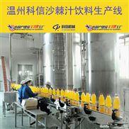 全自动沙棘汁饮料生产流水线设备价格