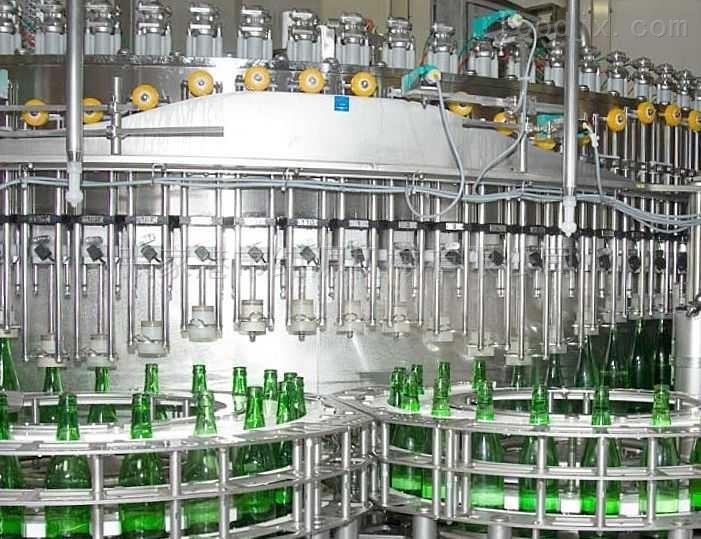 饮料生产线~小型汽水灌装机
