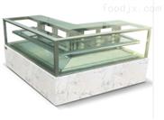 日式直角L型转角蛋糕展示柜