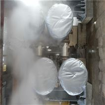 耐高温蒸汽封头隔热套