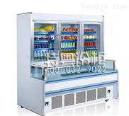 超市一体子母饮料冷藏柜