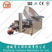 TSBQ-12-玉米锅巴燃气油炸锅,新型节能油炸锅