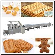 酥性韧性蔬菜数字饼干加工生产线设备厂家