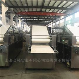 HQ-BG600批量出售韧性饼干成型机 自动饼干生产线