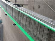 福州挡板网带输送机 提升爬坡输送