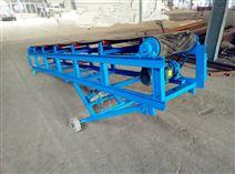 货柜车装卸皮带机防爆电机 新款升降皮带输