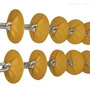 粉体料管链机 加厚倾斜管链输送机厂家xy