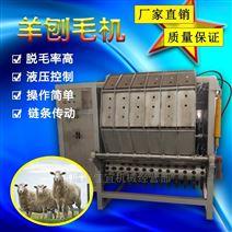 佳宜机械全自动山羊刨毛机不锈钢打毛率高