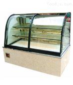 弧形蛋糕展示柜制冷