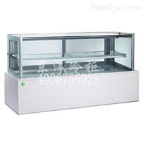 1.2米台式白色大理石,二层日式蛋糕柜