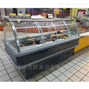 保鲜展示柜,双面开门促销柜 超市专用
