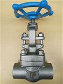 克瑞不锈钢304承插焊截止阀